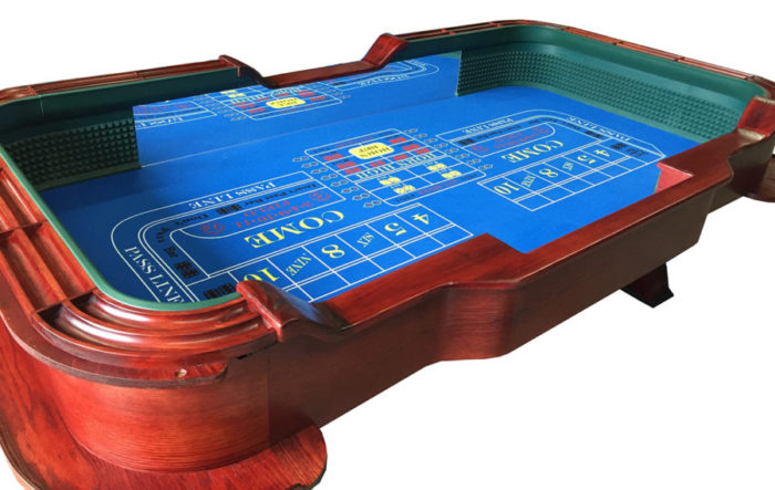 craps-table back side