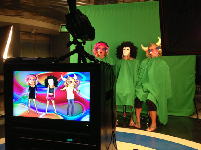 three women dancing in boogie heads
