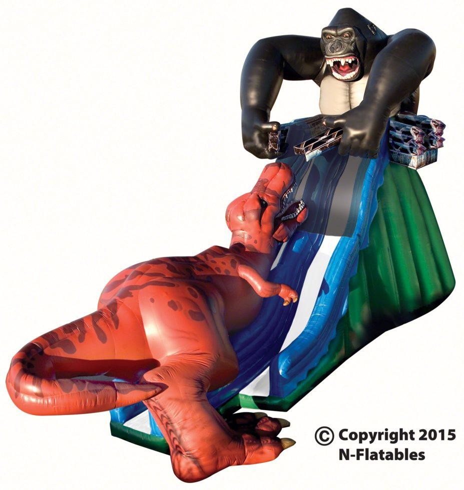 kongo-krazy-single-lane-inflatable-slide