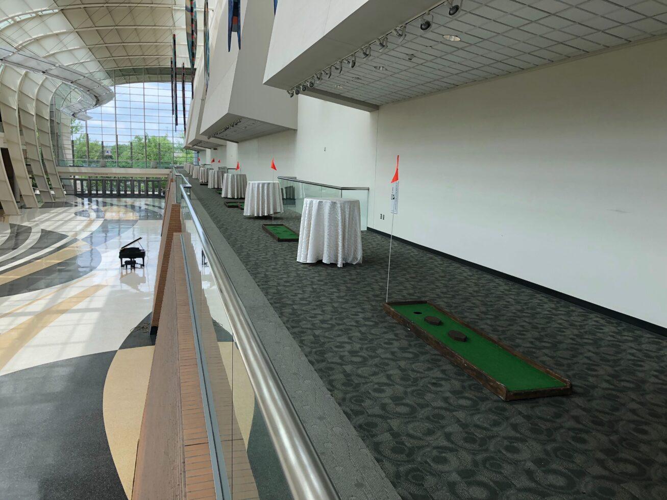 Wood Mini Golf course rental