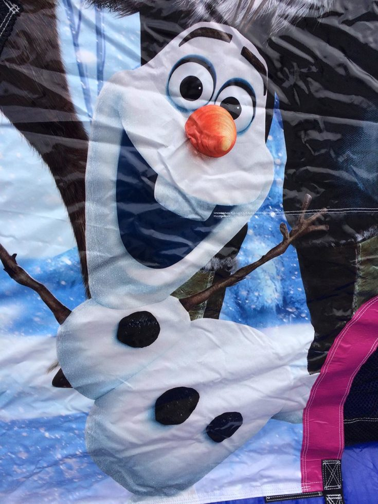Frozen Bounce House Olaf Closeup
