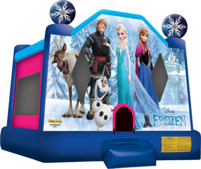frozen bounce house inflatable