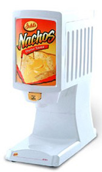 nacho-cheese with nacho chips