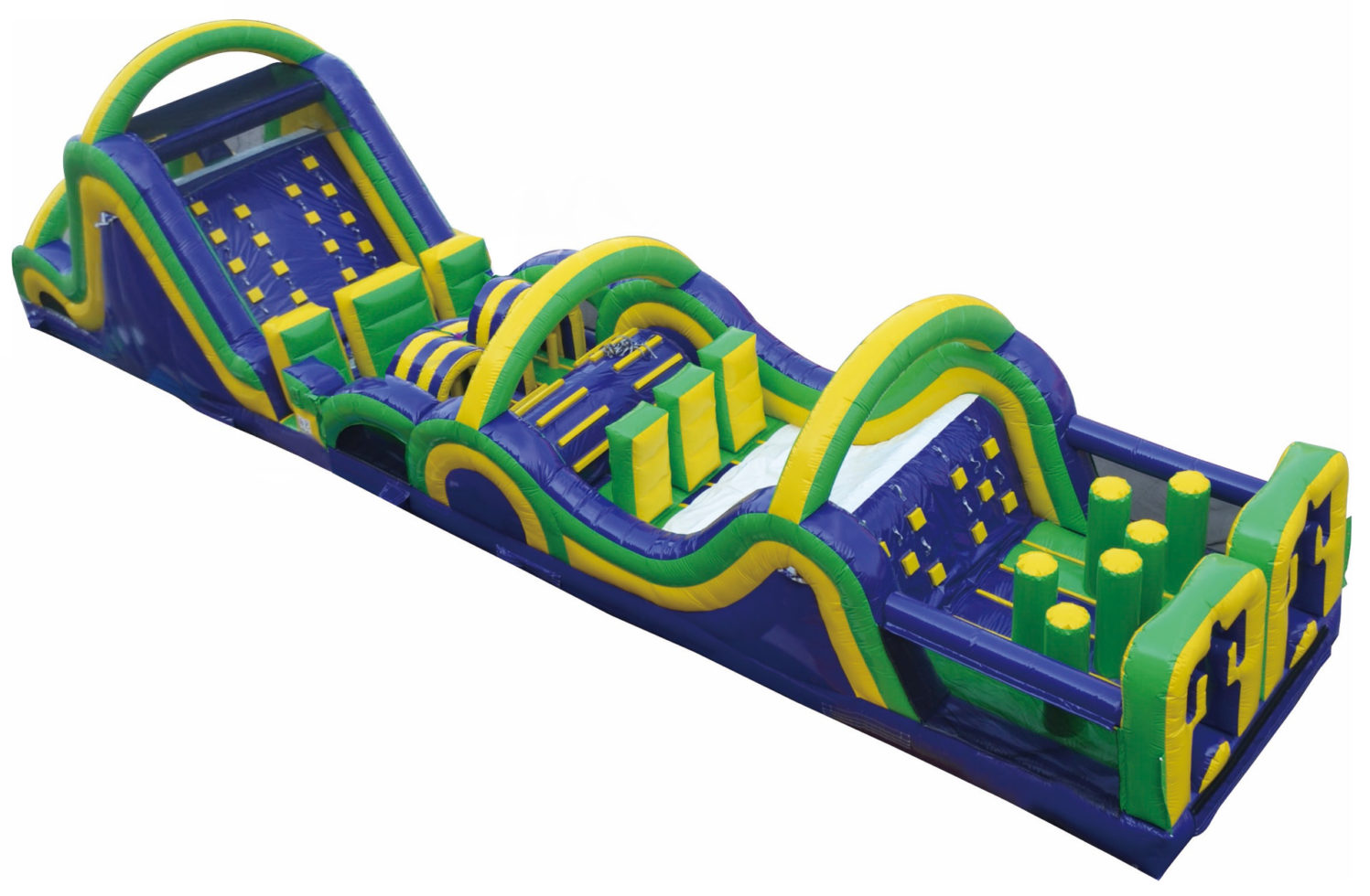 Radical 65 inflatable obstacle course
