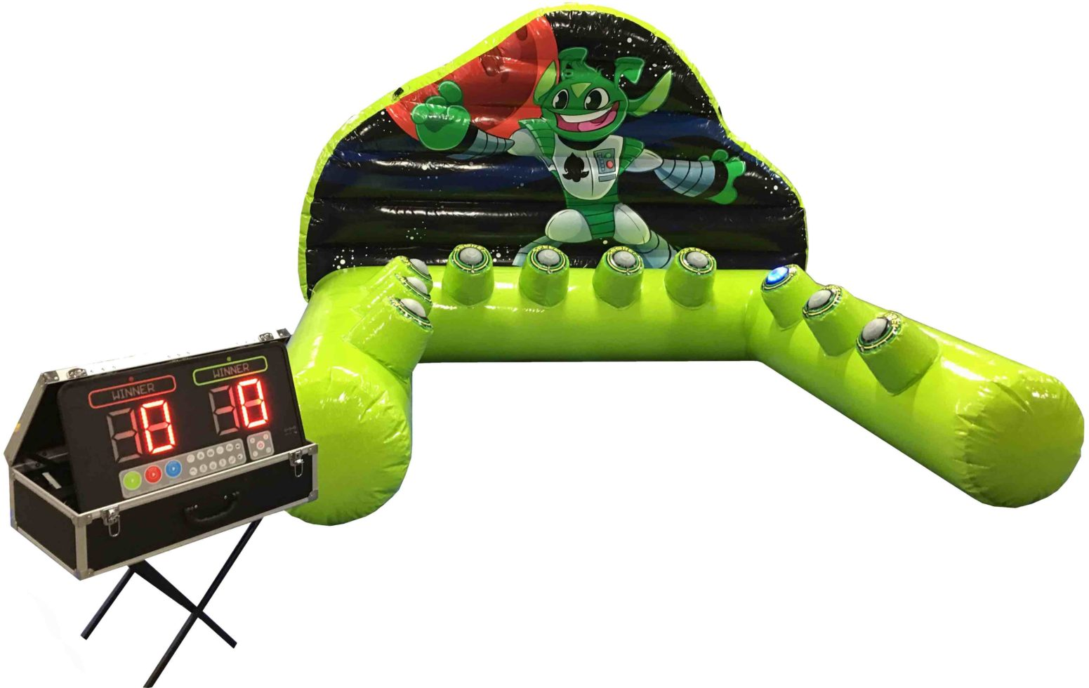 inflatable speed of light game