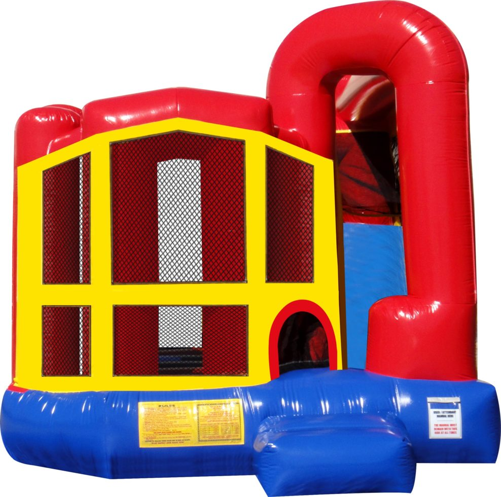 Jump-n-Slide inflatable combo bounce house
