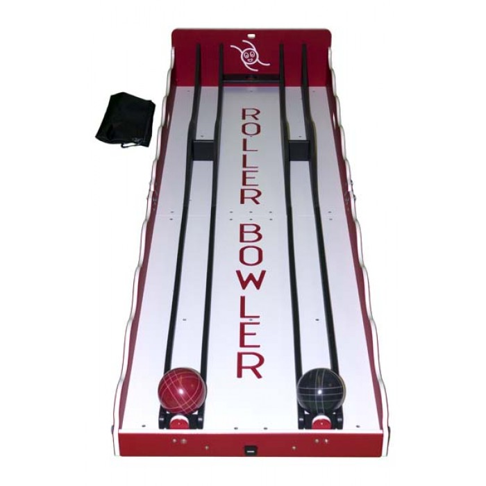 Roller Bowler Game Top View