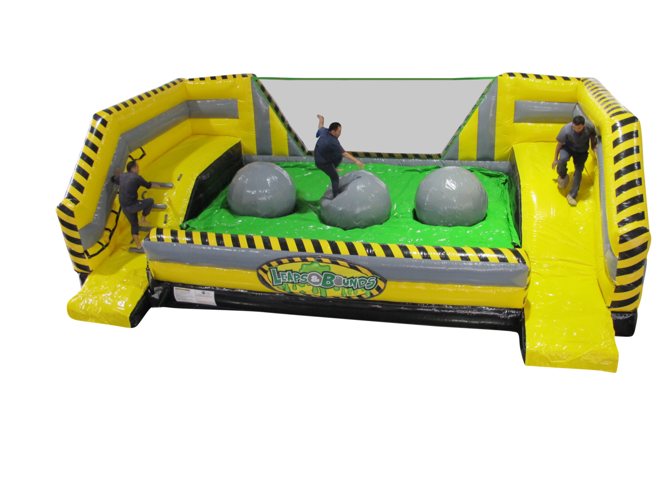 Cropped leaps and bounds inflatable