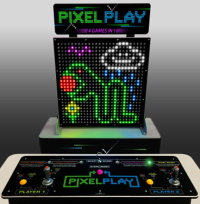 PIXEL PLAY PANEL DISPLAY and CONSOLE