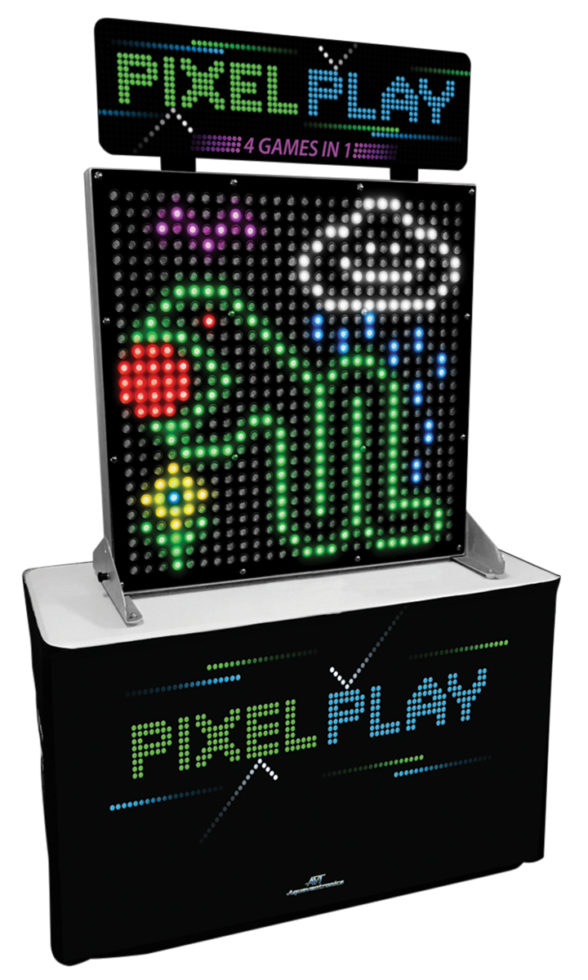PIXEL PLAY PANEL DISPLAY and SKIRT
