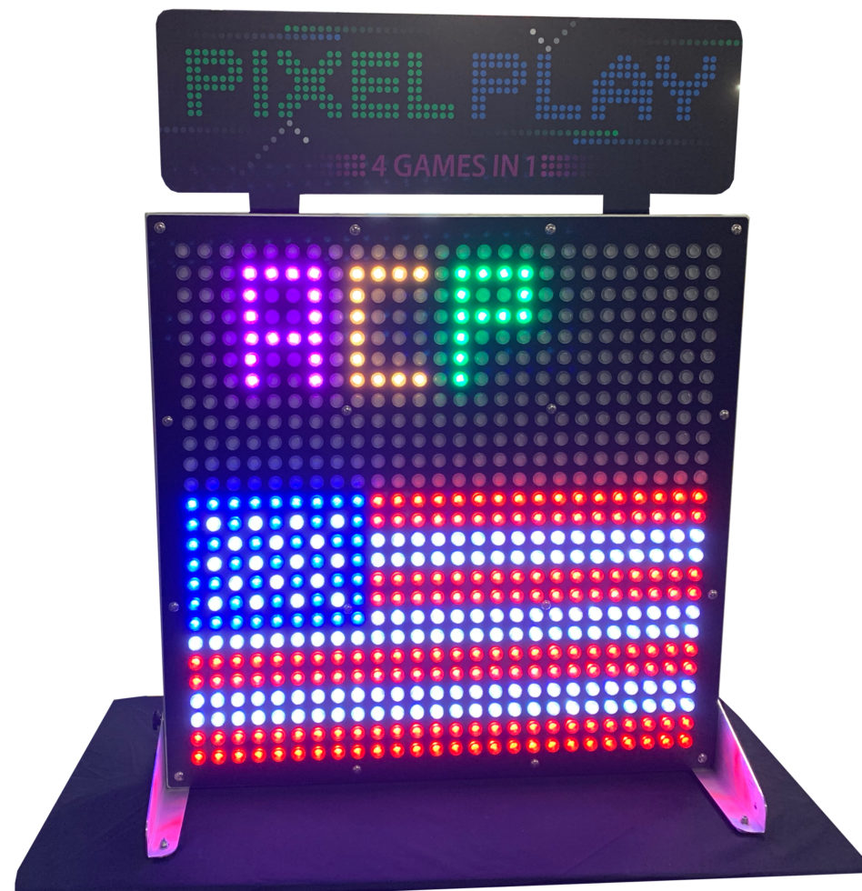 American Flag and ACP on Pixel Play board