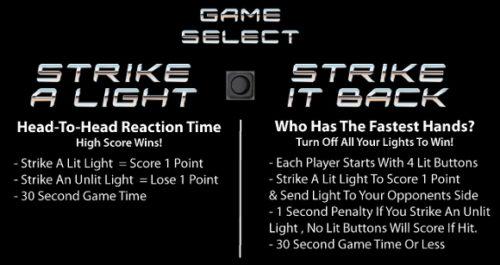 Strike a Light Instructions