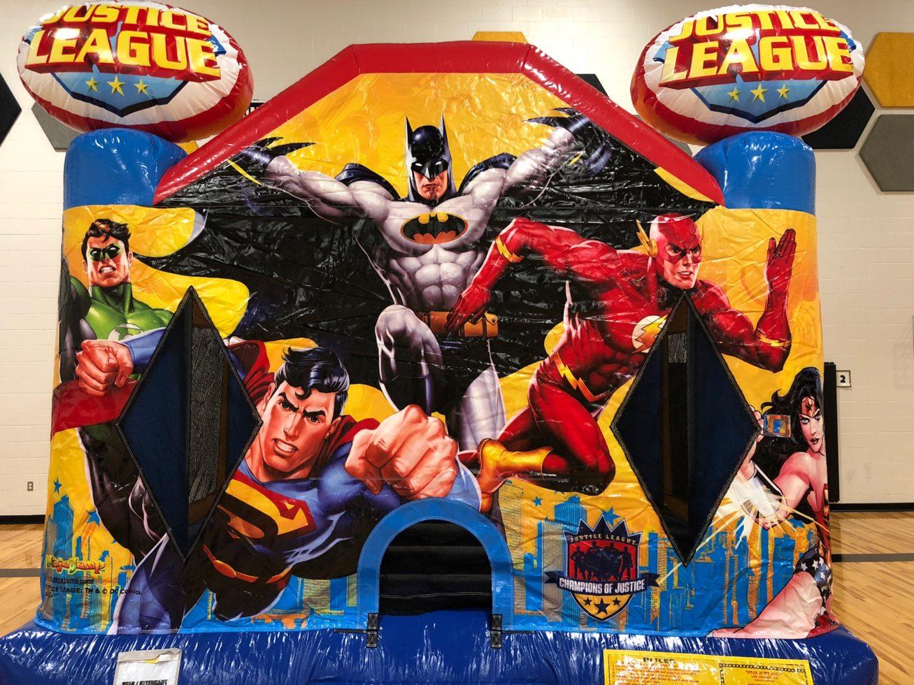 Close up justice league