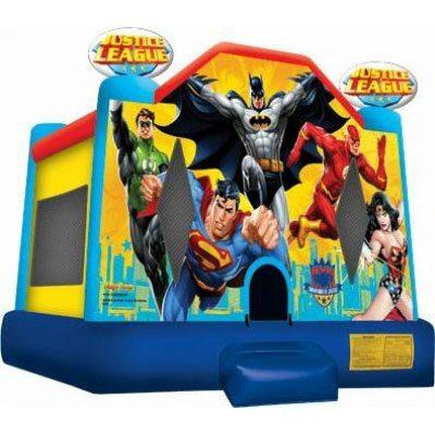 Justice Leauge superhero bouncer