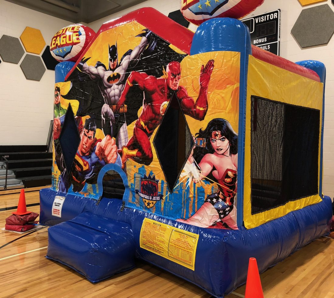 Superhero bouncer rental michigan