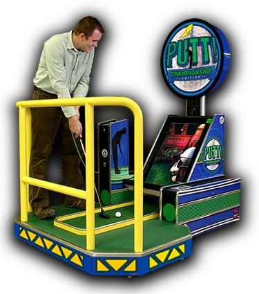 putt putt golf arcade game rental Grand rapids michigan