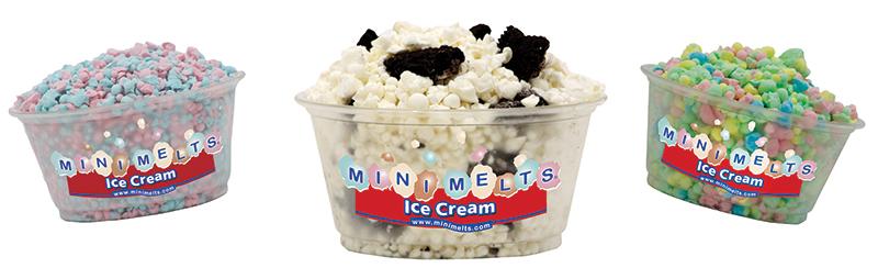 3 mini melt cups
