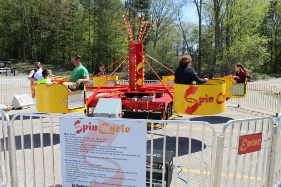 Spin Cycle Carnival Ride