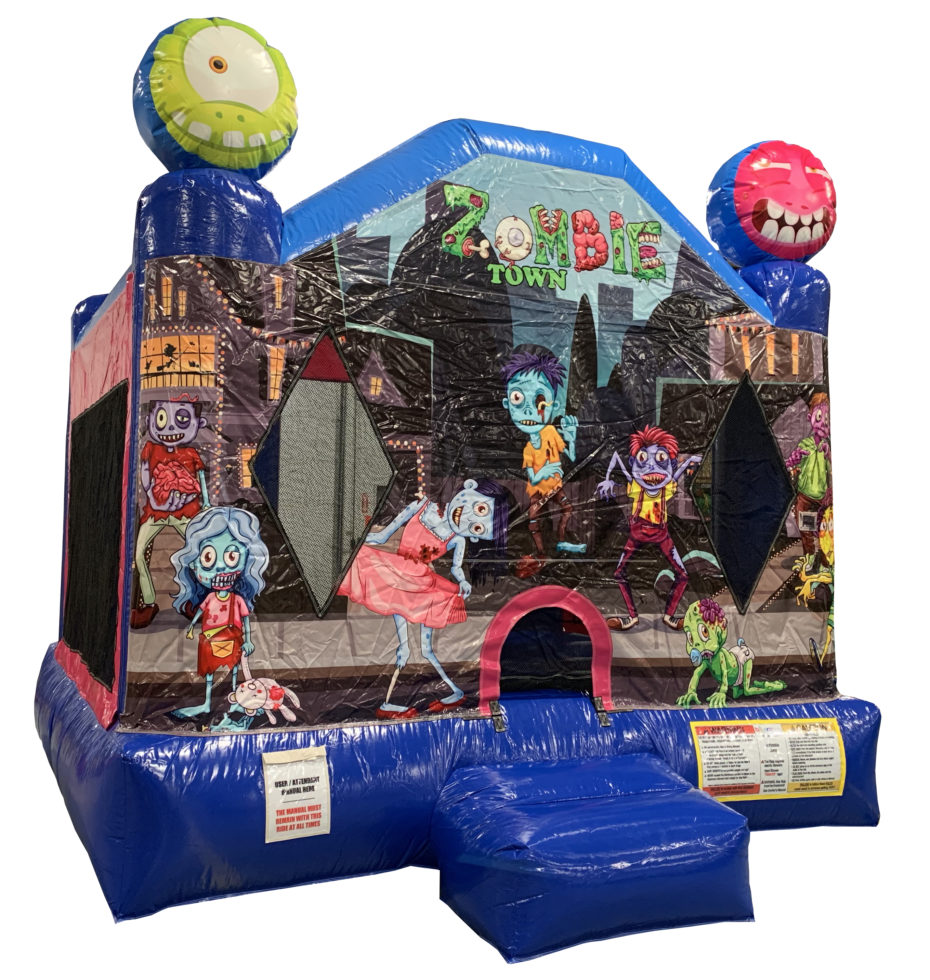 Zombie Town inflatable