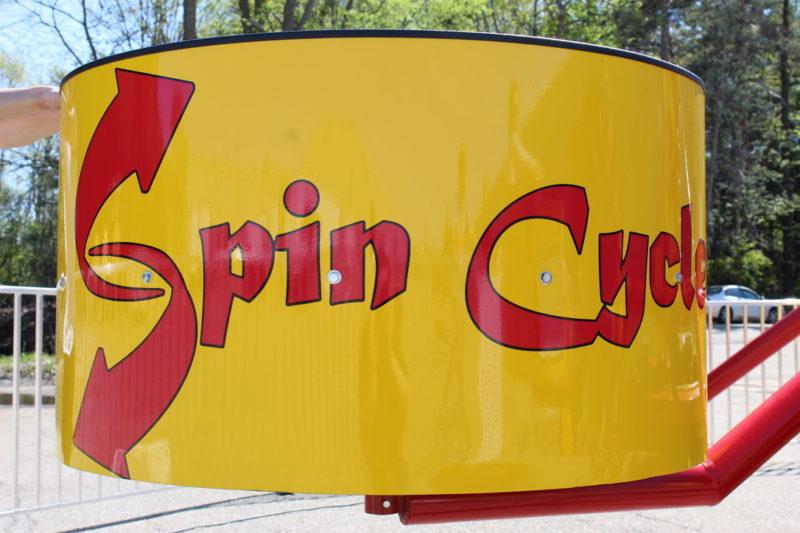 Spin cycle Tubs of fun up close