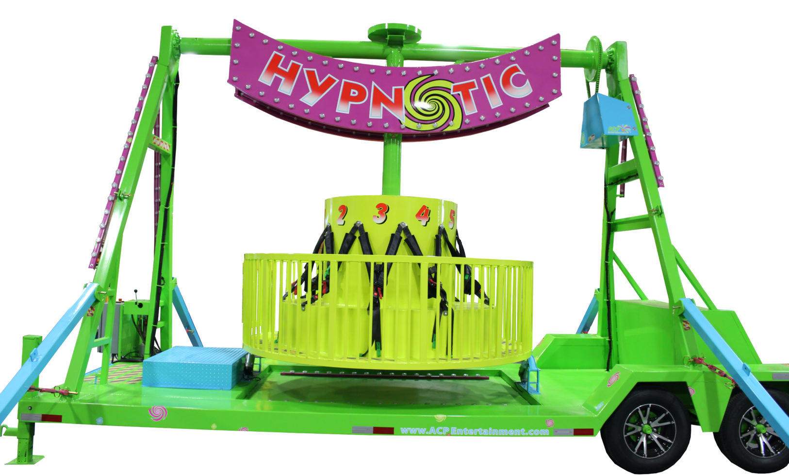 Hypnotic Carnival Ride Rental Grand Rapids Michigan