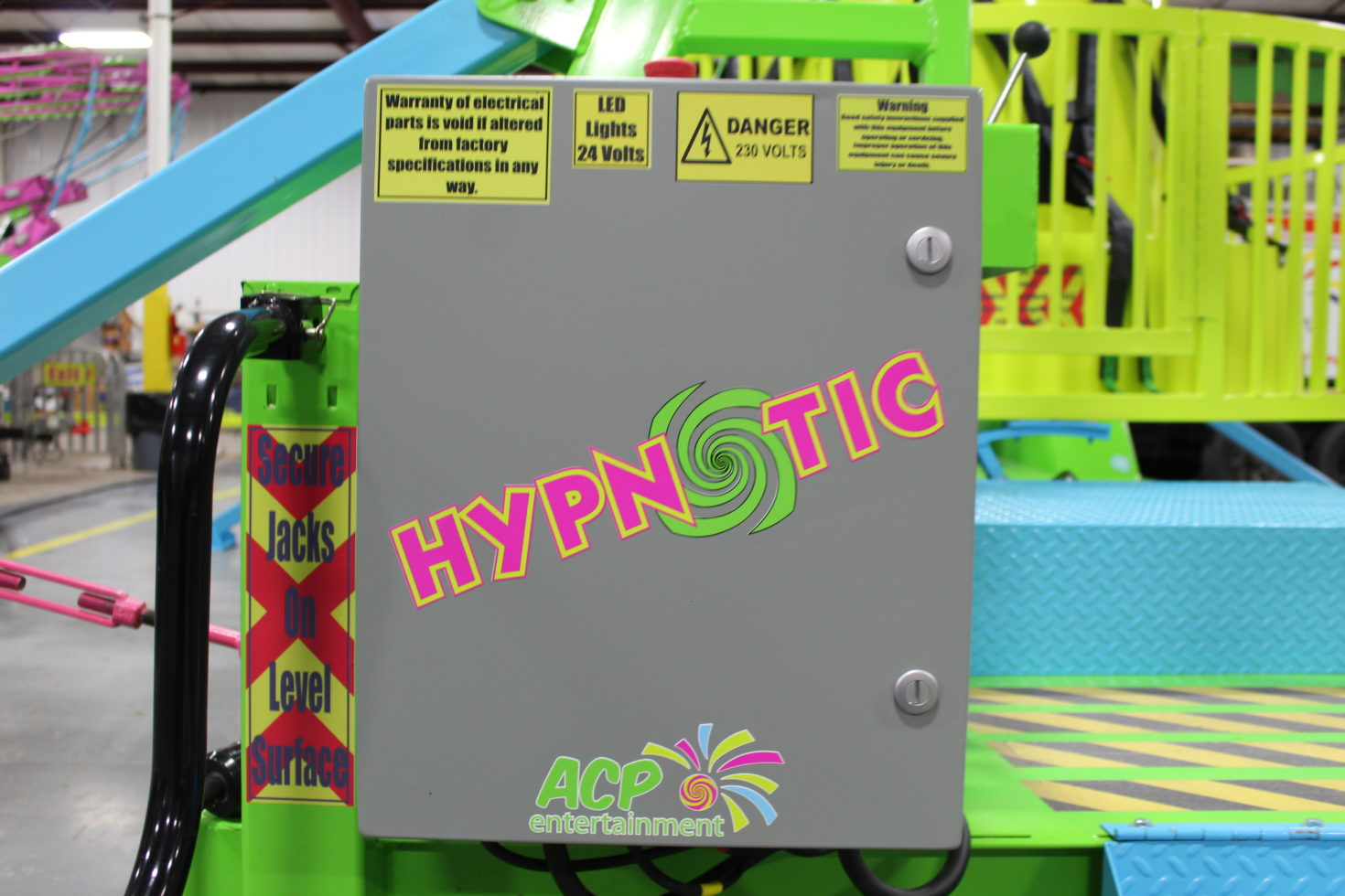 Hypnotic Power Panel Carnival Ride