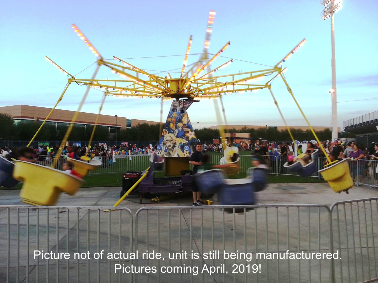 Mind Winder Carnival Ride Rental