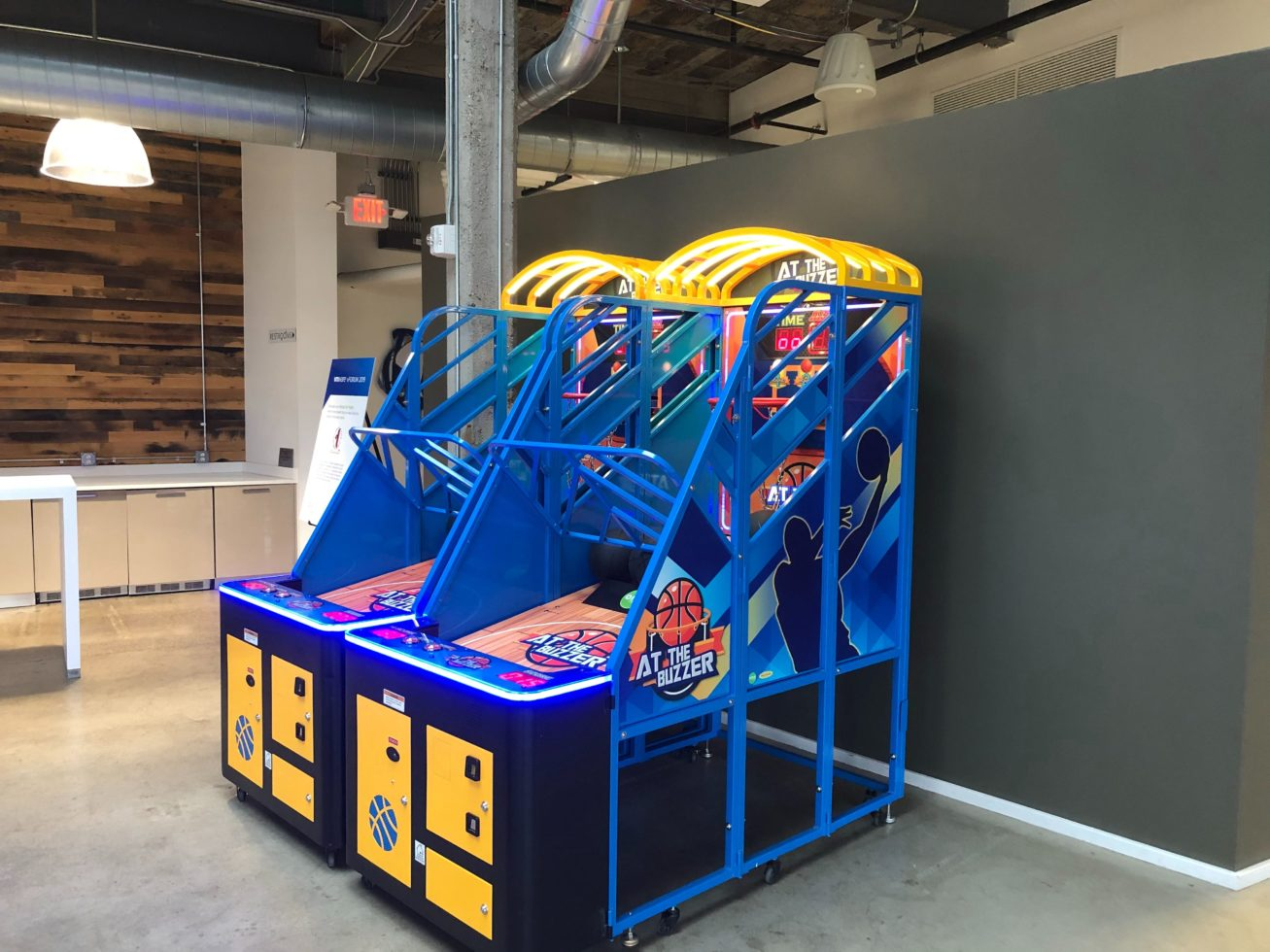 At the Buzzer Basketeball Arcade Games