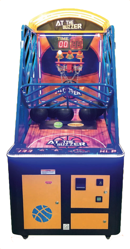 At the Buzzer basketball arcade game rental
