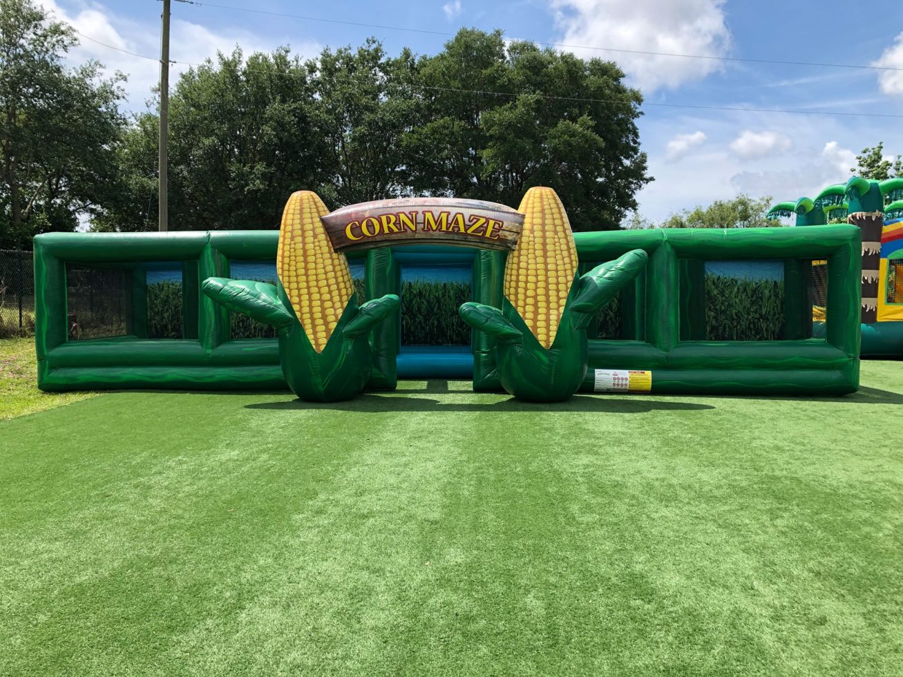 Corn Maze Inflatable Rental Michigan