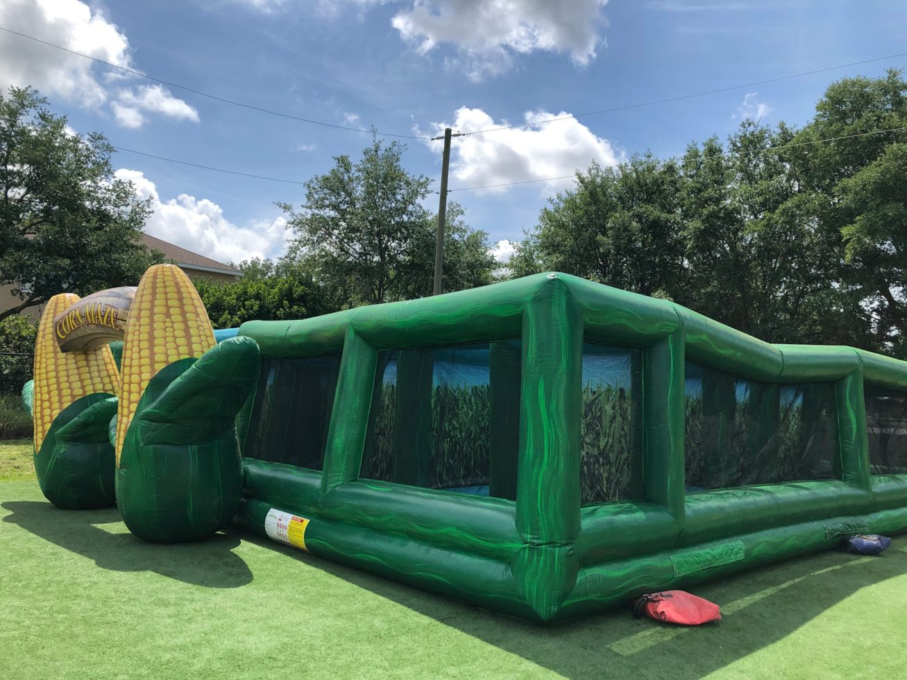 Corn maze inflatable rental Grand Rapids