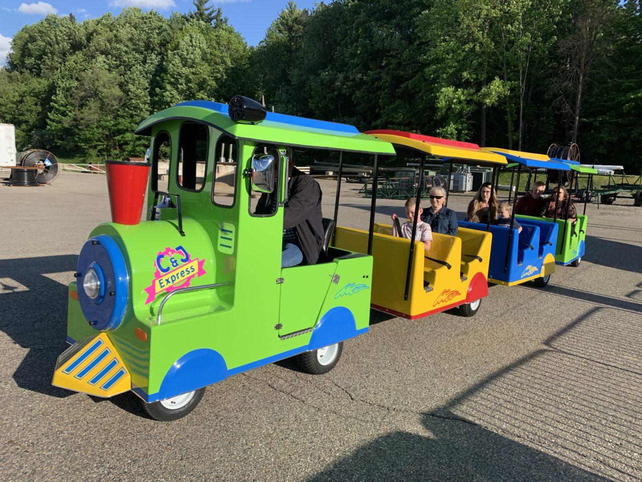 Carnival Trackless Train Rental