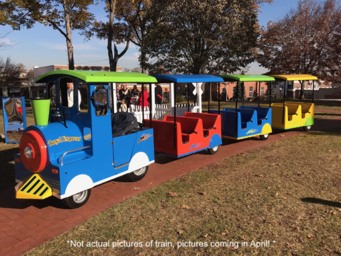 Carnival Trackless Train