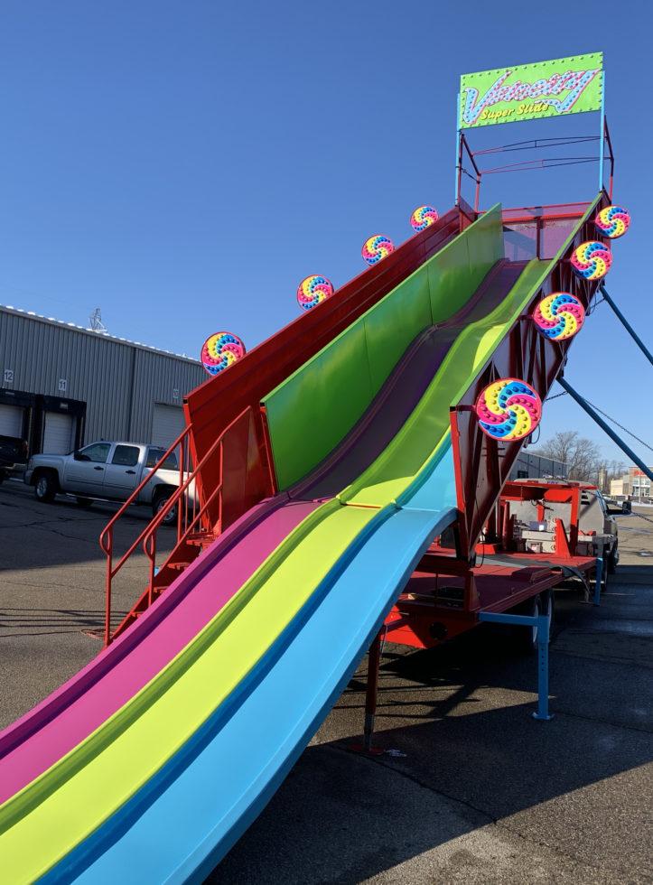 Carnival ride slide rental Michigan