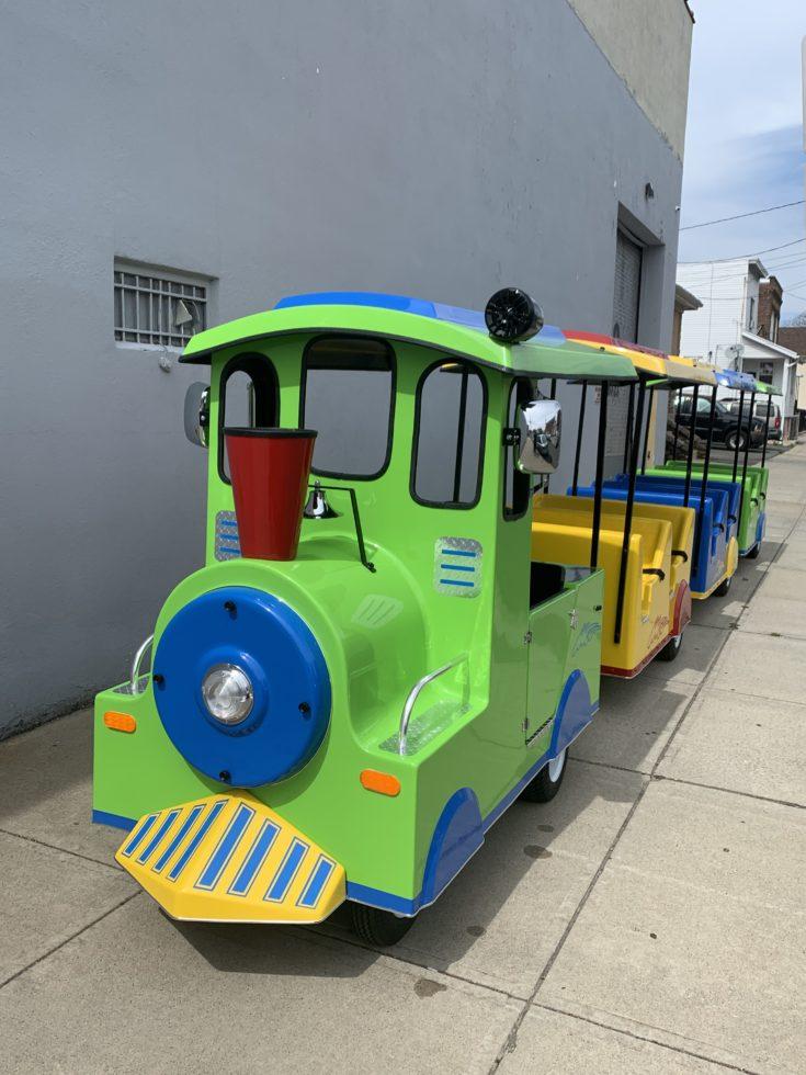 Carnival train ride