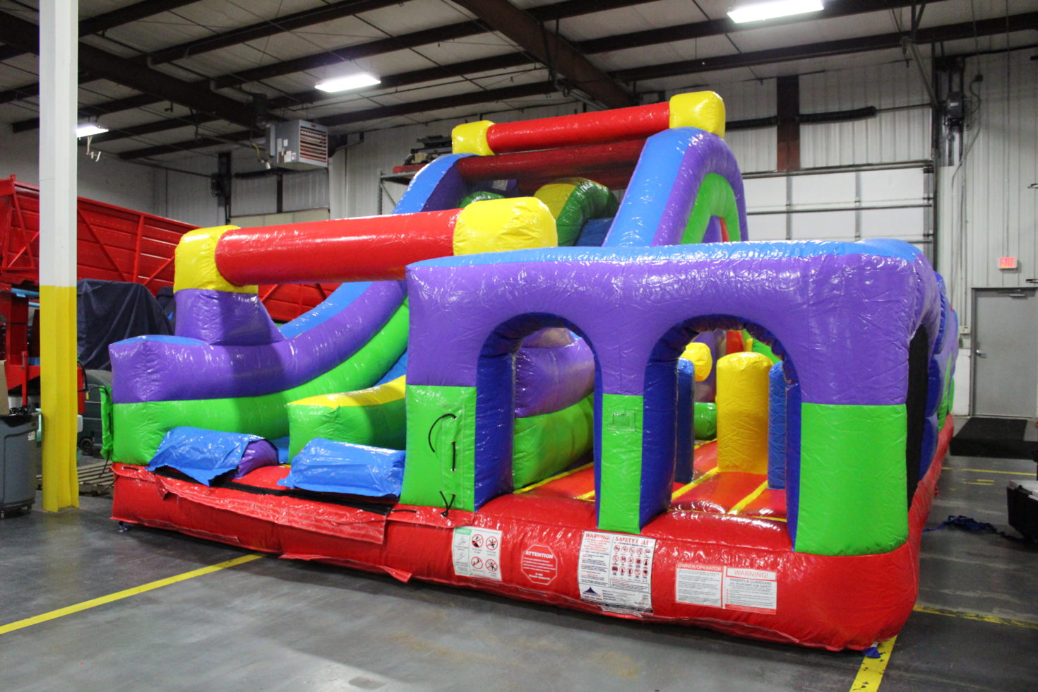 DoubleBack Inflatable Obstacle Course Rental in Grand Rapids