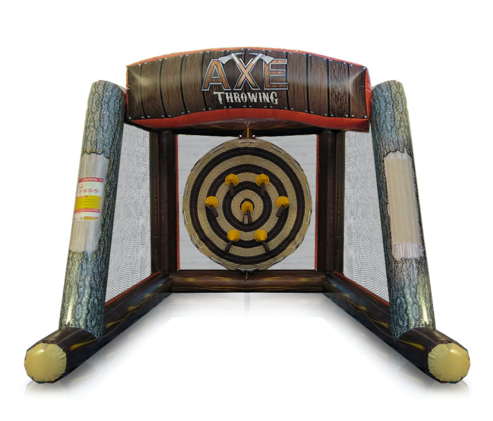 Inflatable Axe Throwing Rental