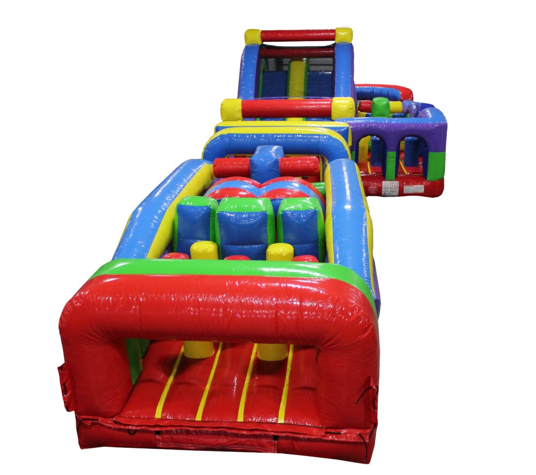 J-Course inflatable obstacle course rental