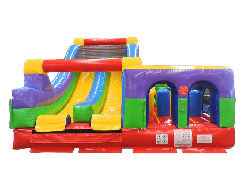 DoubleBack Inflatable Obstacle Course Rental Michigan