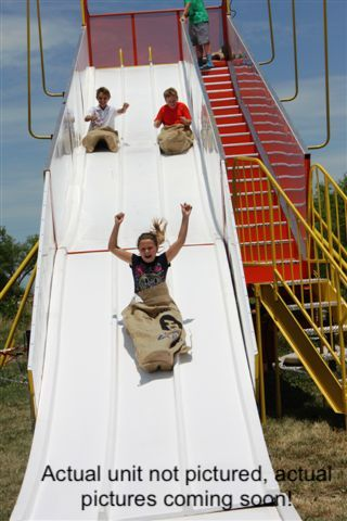 Velocity Super Slide with Kids