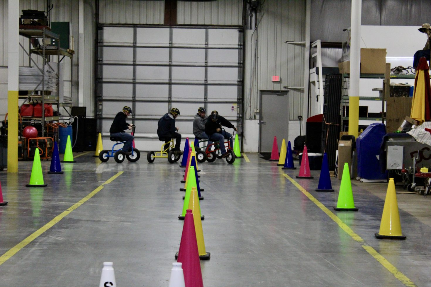 Wacky Trikes Race and course