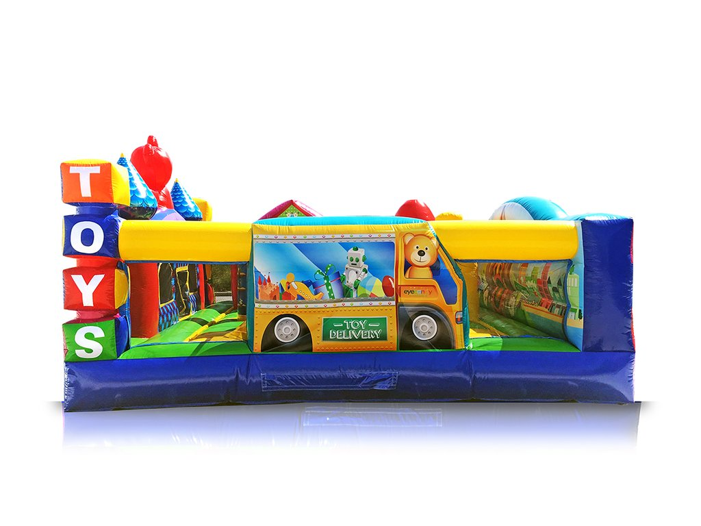 Toy town inflatable rental for toddlers