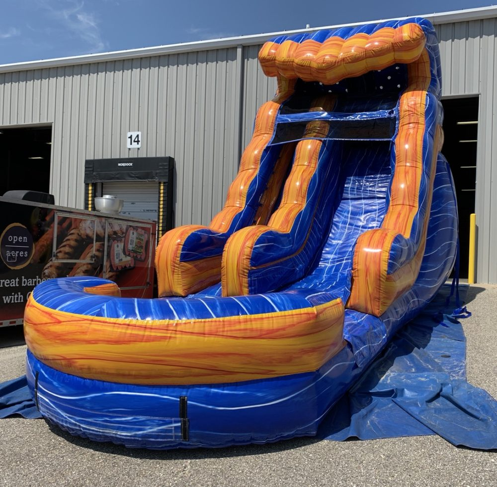 Inflatable water slide rental grand Rapids Michigan