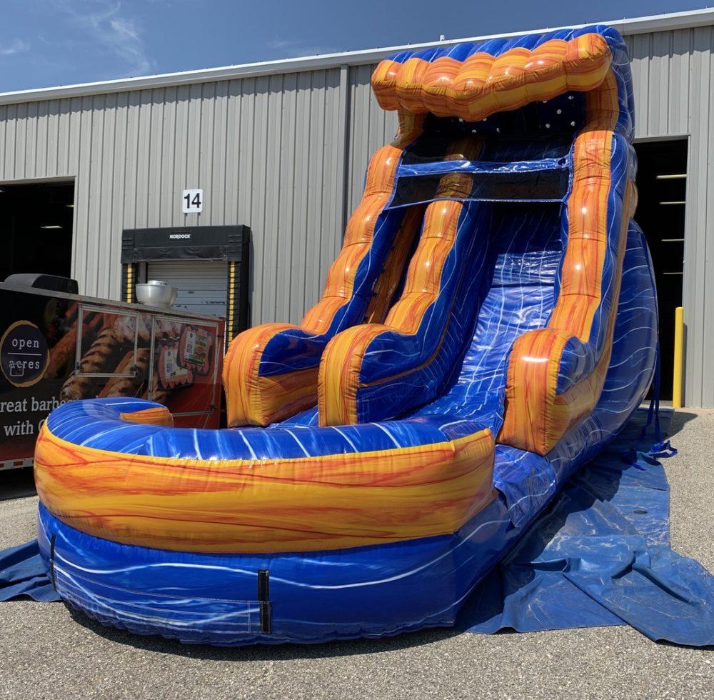 Inflatable water slide rental grand Rapids Michigan