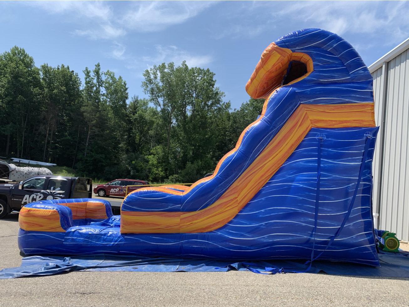 Inflatable water slide rental grand rapids