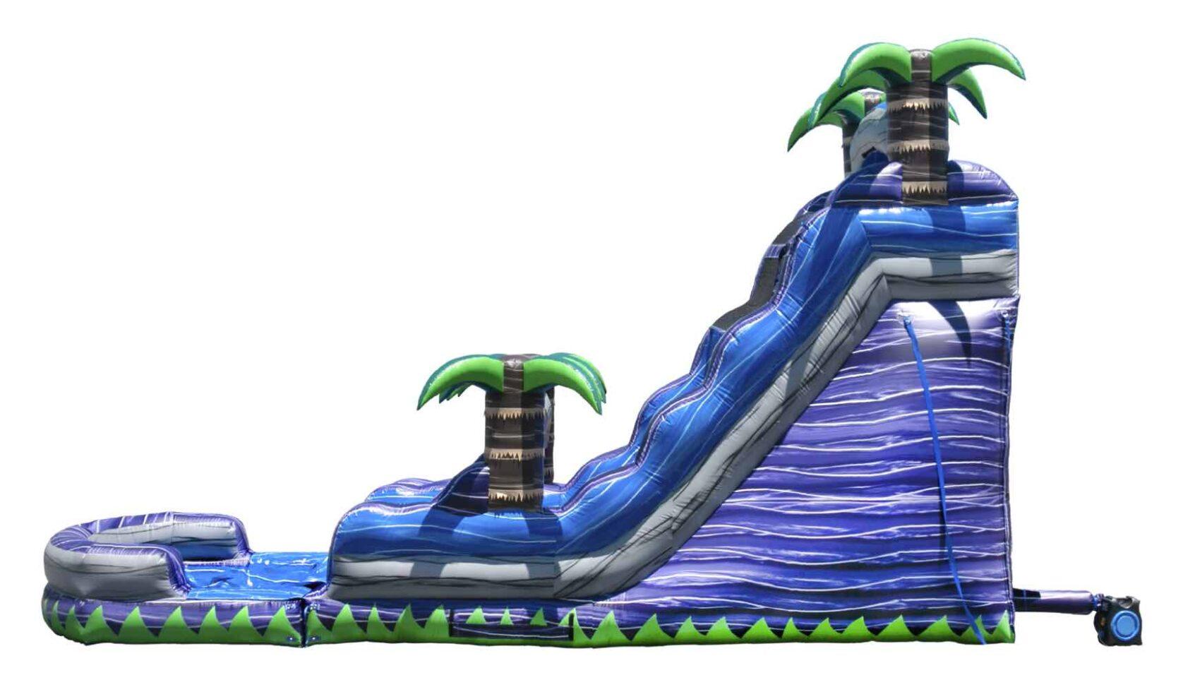 Purple Crush Inflatable Water Slide Rental Grand Rapids