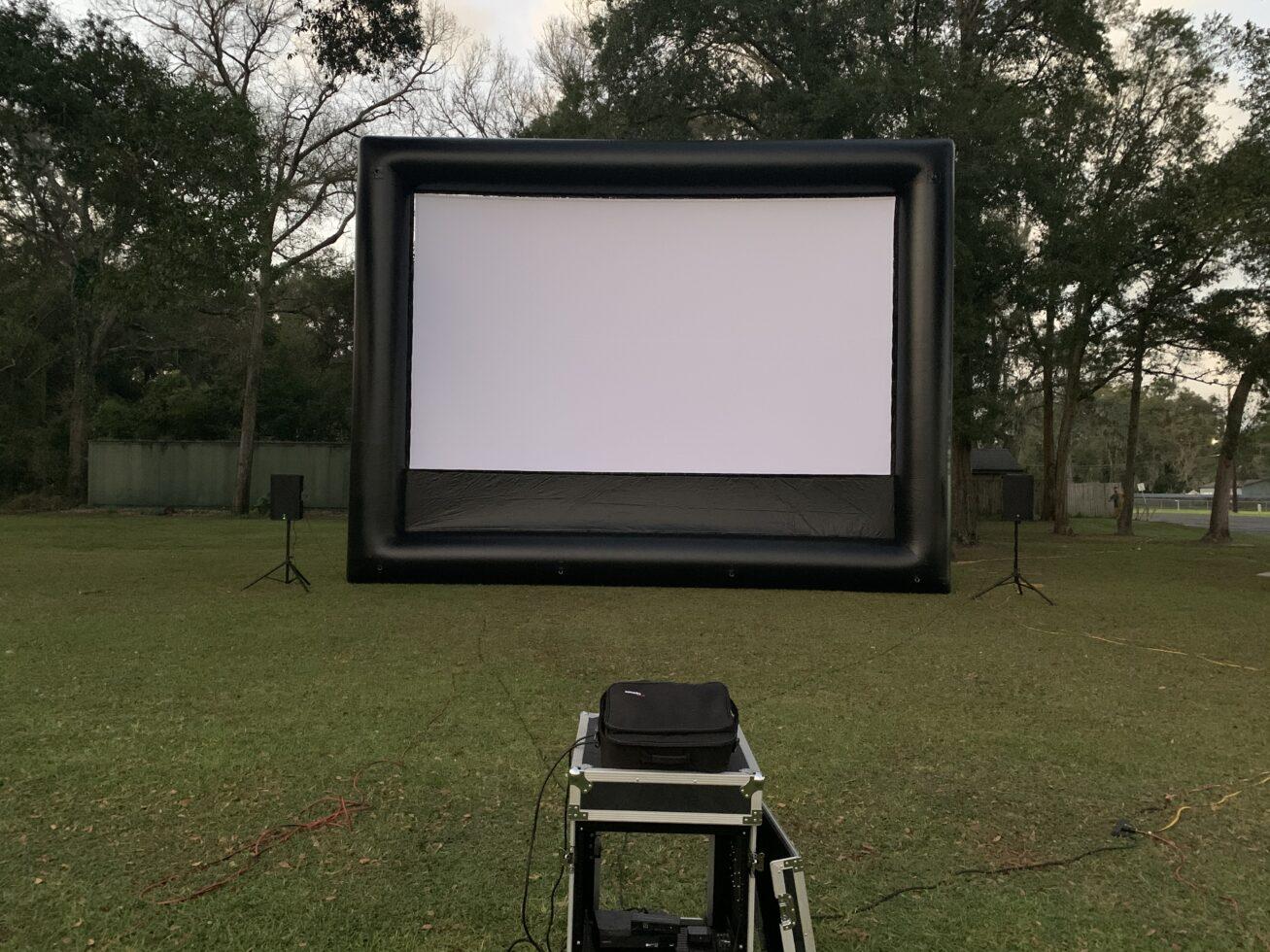Inflatable Movie Screen Rental Michigan
